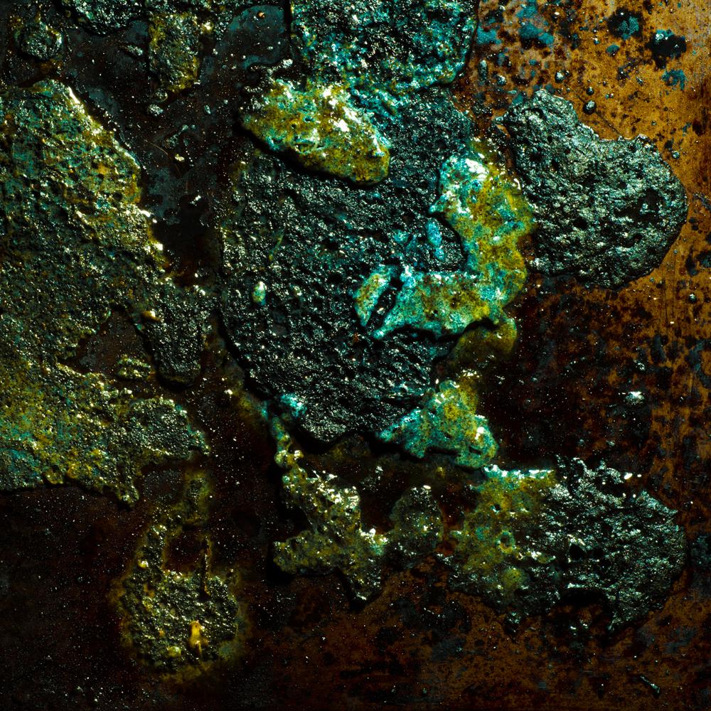 Charred Landscape #10 - Archival Pigment Print 42 inches x 42 inches