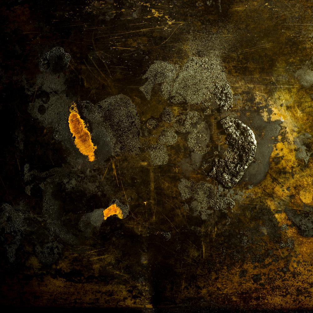 Charred Landscape #7 - Archival Pigment Print 42 inches x 42 inches