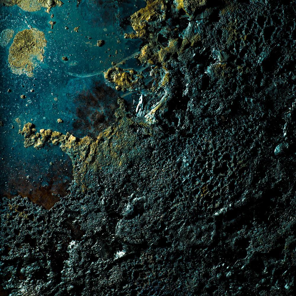 Charred Landscape #9 - Archival Pigment Print 42 inches x 42 inches